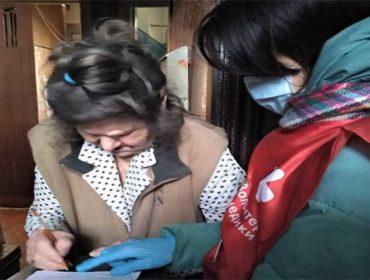 Няндомские жители приняли участие в акции «Мы вместе»